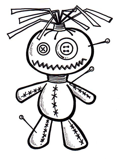 cute voodoo doll drawings voodoo doll by freakcastle on deviantart