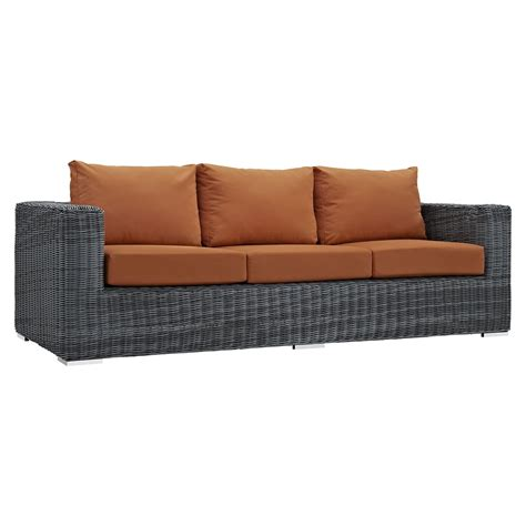 Sunbrella Sectional Sofa Summon 9 Pieces Outdoor Patio Sectional Sofa Set