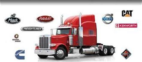 top semi trucks tractor trailer manufacturer brands