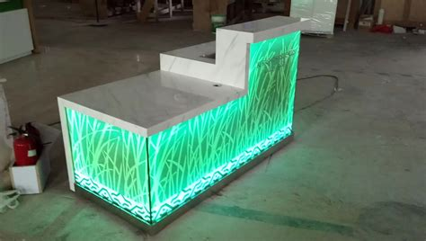 Sale Modern Design Solid Surface Acrylic Led Effect 2017 Modern Acrylic Solid Surface Led Lighting Club