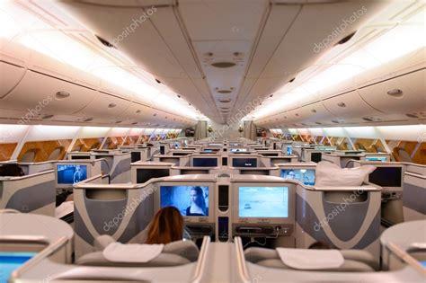 Airbus A380 Interni Emirates Airbus A380 Interni Foto Editoriale Stock