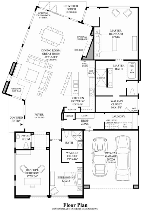 mid century modern home floor plans single story mid century modern house plans