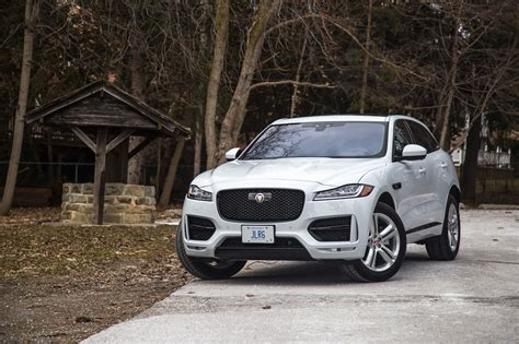 review 2017 jaguar f pace r sport canadian auto review