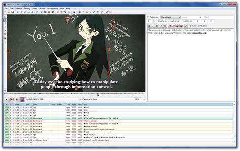 aplikasi edit film layar lebar aegisub 3 0 2 full hướng dẫn phần mềm l 224 m sub đẹp cho