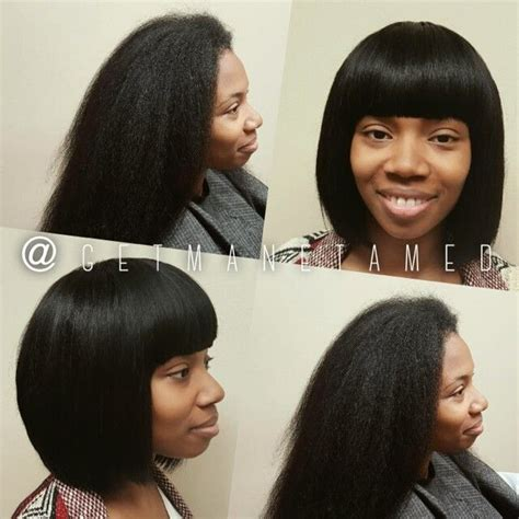 sew in long bob weave no leave full sew in with no leave out on long natural hair
