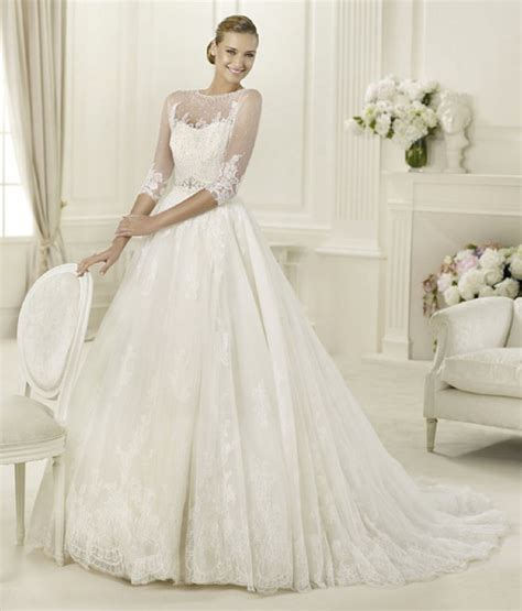 pronovias wedding dresses and cocktail dresses sheer perfection 11 gorgeous wedding dresses from the