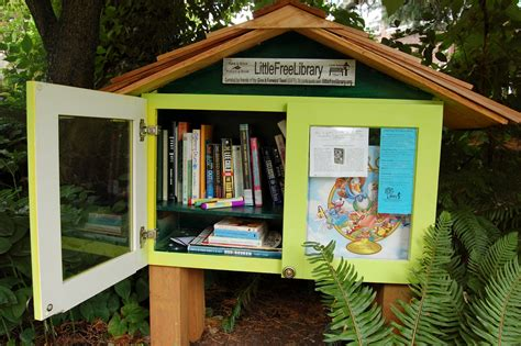 tiny library little free library the viking
