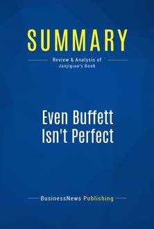 money isn t the problem you are ebook even buffett isn t perfect 187 mustreadsummaries com learn