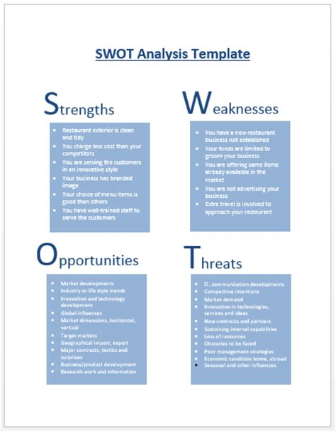 swot analysis essay sle 100 swot analysis exles bplans 28 images 100 swot