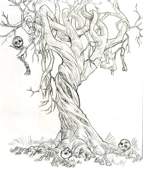 man eating tree by brizl on deviantart