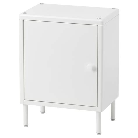 Ikea White Storage Cabinet Dynan Cabinet With Door White 40x27x54 Cm Ikea