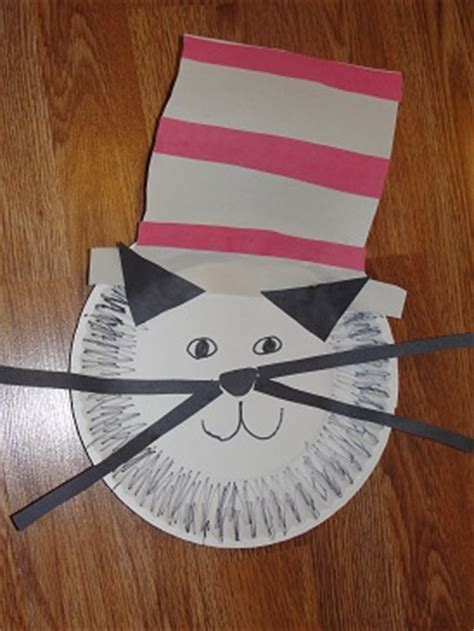 Paper Hats For Preschoolers - cat in the hat craft dr seuss hat dr seuss birthday and