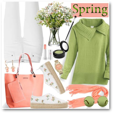 spring look for women 50 50 old women spring season casual style 2018