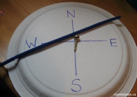 How To Make A Paper Compass - compass are we there yet