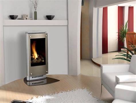 free standing modern fireplace modern gas fireplace freestanding home design ideas