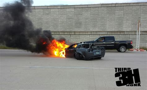 corvette crashes 150 mph crash 800 hp corvette crashes