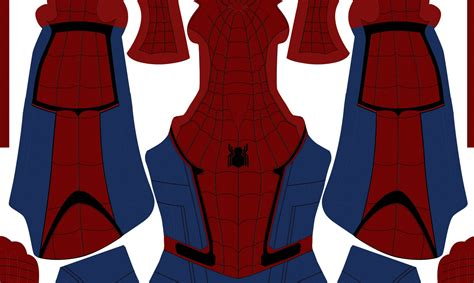 Spiderman Suit Pattern Free | spiderman suit pattern download