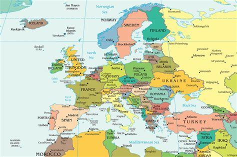 map de l europe cartes de l europe world map