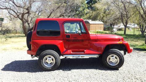 renegade jeep wrangler 1j4fy69s4pp201793 1993 jeep wrangler renegade yj