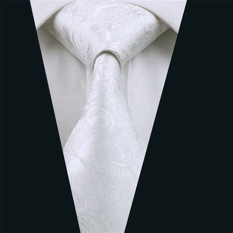 popular white ties buy cheap white ties lots from china