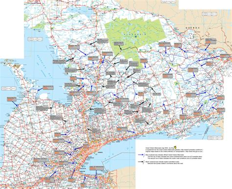 driving map of usa and canada road map of ontario canada 2 on maps world maps