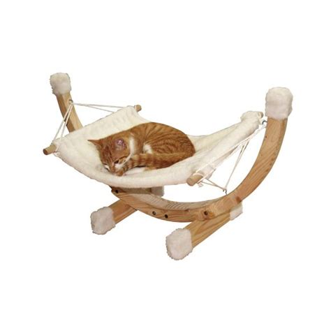 Hamac Pour Chat Pas Cher by Animal Valley Hamac Siesta Blanc Pour Chat Unicolore