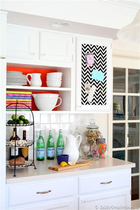 diy kitchen cabinet decorating ideas instant color swap open shelving ideas in my own style