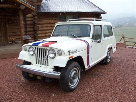 jeep commando hurst bangshift com ebay find a 1971 hurst jeepster commando