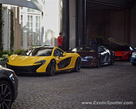 mclaren p1 spotted in beverly california on 11 22 2014