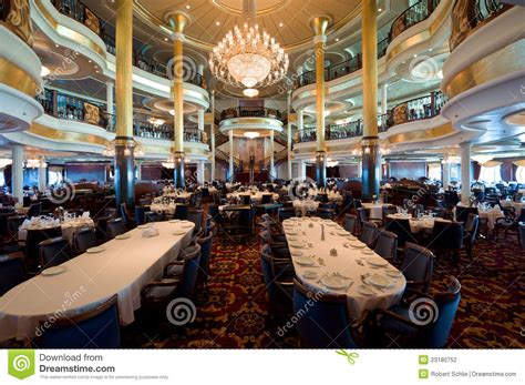 Cruise Ship Dining Room by Cruise Ship Dining Room Stock Photography Image 23180752