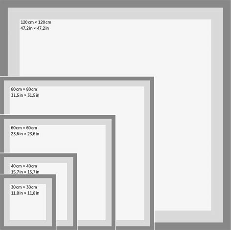 square card table dimensions poster sizes juniqe