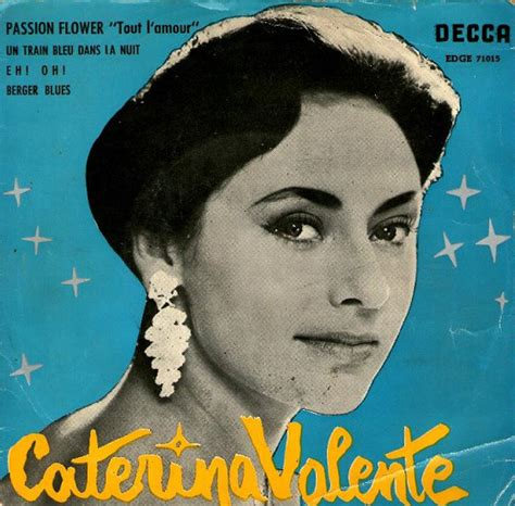 caterina valente passion flower caterina valente passion flower quot tout l amour quot vinyl