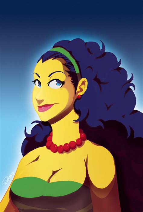 Marge Simpson By Toviorogers On Deviantart