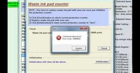 cara resetter epson stylus tx121x tips cara cara mengatasi error code 20000011