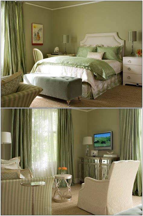 coddington design serene green bedrooms