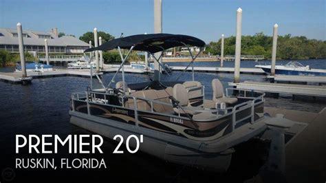 premier pontoon for sale premier boats for sale