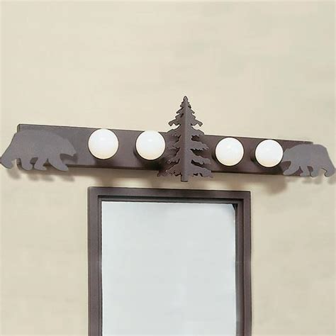 Cabin Vanity Lights Cabin Rustic Vanity Light Cabin Place
