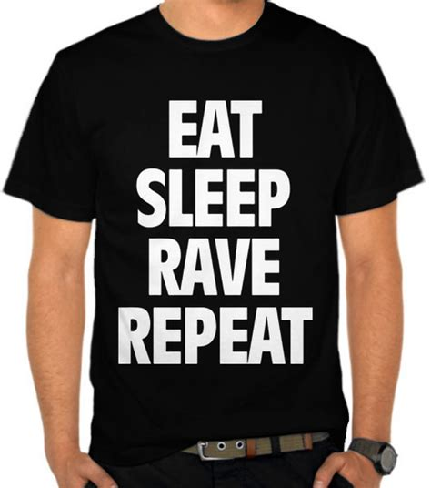 jual kaos eat sleep repeat disc jockey dj