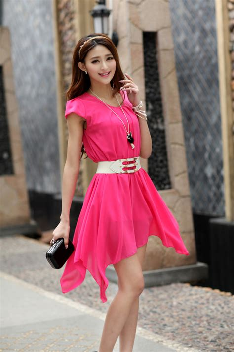 Kain Sifon Korea Bahan Blouse Tunik Gamis Sifon Halus dress sifon terbaru images