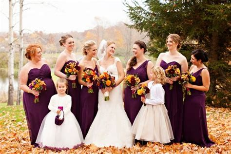 plum colored flower dresses plum colored bridesmaids dresses and