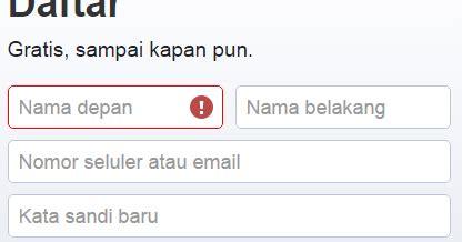 buat email pake yahoo cara mendaftar facebook dengan email daftar facebook