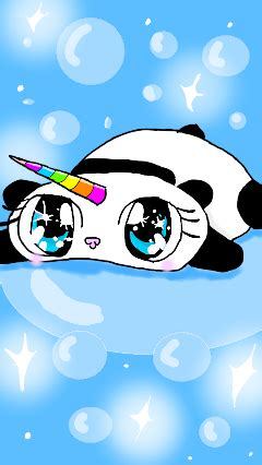 awesome pandacorn images  picsart