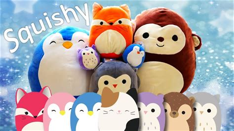 squishy squooshems squishmallows collection squishy and soft plush animals