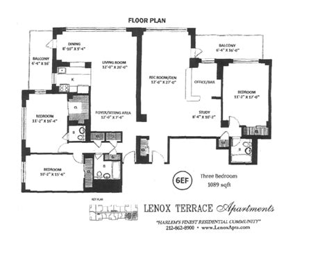 Lenox Terrace Floor Plans | streeteasy lenox terrace at 10 west 135th st in central