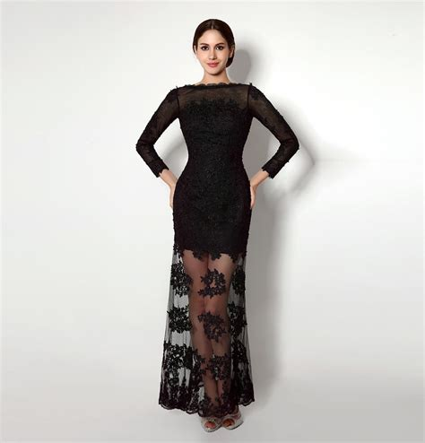 black lace dresses see through sexy low back party dresses black see through lace