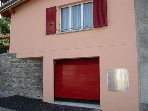 bbg porte sezionali portone sezionale bbg rosso rosso i nostri portoni