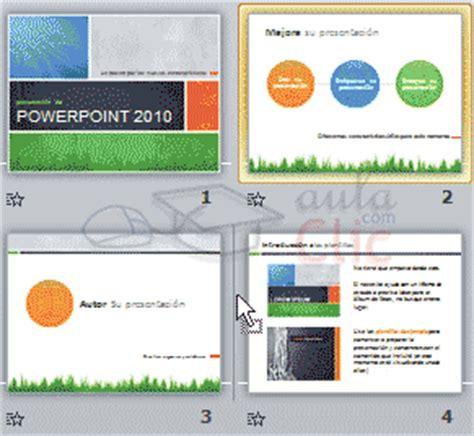 varias imagenes en una diapositiva powerpoint curso gratis de powerpoint 2010 aulaclic 3 trabajar