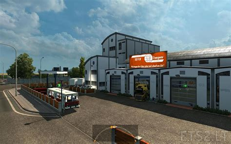 custom large garage ets 2 mods ets2downloads large garage large garage spt service ets2 version 1 22 xx