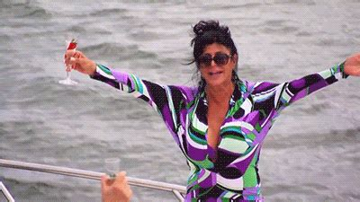 party boat gif big ang television gif by realitytvgif find share on giphy