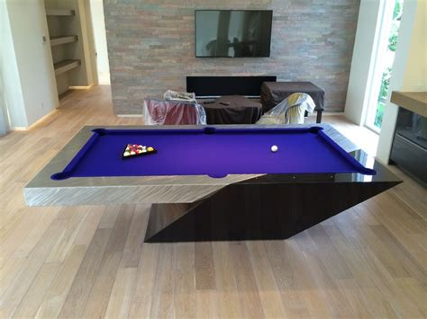 stainless steel pool table by mitchell pool tables